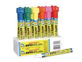U. S. Chemical & Plastics 37002 Auto Writer Pen, Pink, 12 Pen