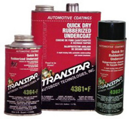 Transtar 4364-F Quick Dry Rubberized Undercoating, Quart