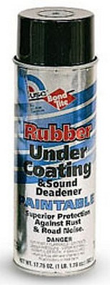 U. S. Chemical & Plastics 51030 Rubberized Paintable Undercoating, 17.75 Oz. Aerosol