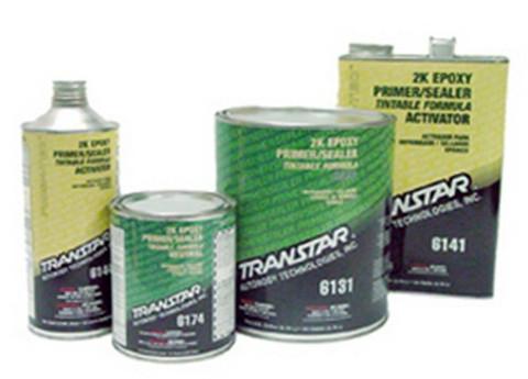 Transtar 6134 2K Epoxy Primer Gray, 1-Quart