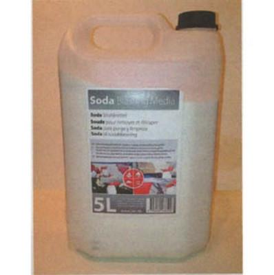 RBL Products 145151 Soda Blasting Media, 5L Bottle
