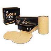 """U. S. Chemical & Plastics 82311 6"""" PSA P220 Gold Paper Flat"""