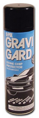 U-POL Products UP0732 Gravi-Gard Stone Chip Aerosol, Gray