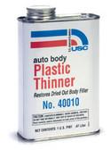 "U. S. Chemical & Plastics 40010 Auto Body Plastic Thinner, ""Honey"""
