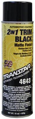 Transtar 4643 2 In 1 Trim Black Matte