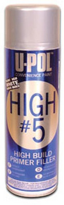 U-POL Products UP0763 High #5 1K High Build Primer, White, Aerosol