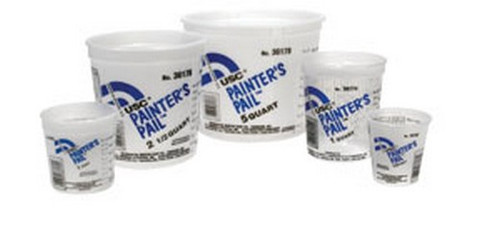 U. S. Chemical & Plastics 36176 Painter'S Pail, 2-1/2 Quart
