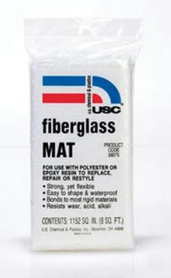 U. S. Chemical & Plastics 58075 Fiberglass Mat 8 Sq. Ft.