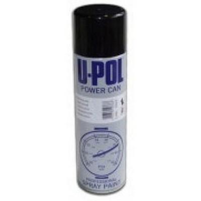 U-POL Products UP0801 Satin Black, 500Ml, Aerosol