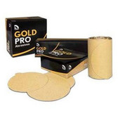 "U. S. Chemical & Plastics 82406 6"" Grip P080 Gold Paper"