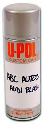 U-POL Products UP0811 Custom Can Pregased Aerosol, 400Ml