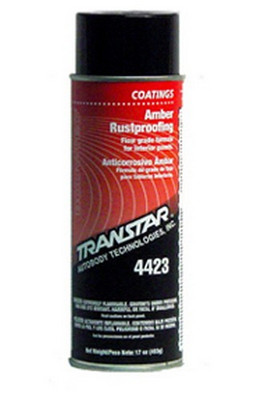 Transtar 4423 Amber Rustproofing, 24 Oz Aerosol