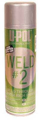 U-POL Products UP0768 Weld #2 Copper - Weld Through Copper Primer, Aerosol
