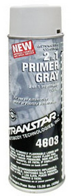 Transtar 4603 2 In 1 Primer Gray, 15 Oz Aerosol