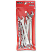Titan Tools 17384 Combination Wrench Set SAE 5 Piece