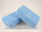 "Hi-Tech Industries  46M 4""X6"" Blue Wax App. Microfiber"