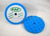 Hi-Tech Industries  HB402C 2 Pk Hi-Buff Blue Foam Pads