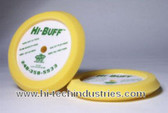 Hi-Tech Industries  HB200 Hi-Buff Ylw. Med.Cut Foam Pad