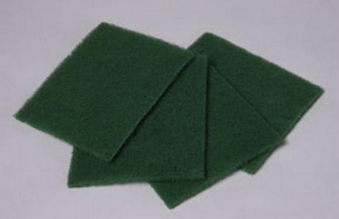 "Hi-Tech Industries HT-6910 Green Scuff Pads 9"" X 6"""