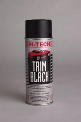 Hi-Tech Industries HT-1810 Flat Black Enamel Spray Paint