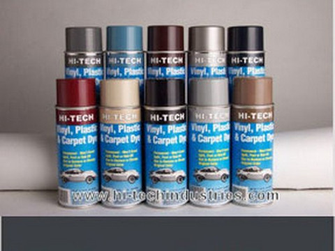 Hi-Tech Industries HT-350 Vinyl Plastic & Carpet Dye - Deep Blue