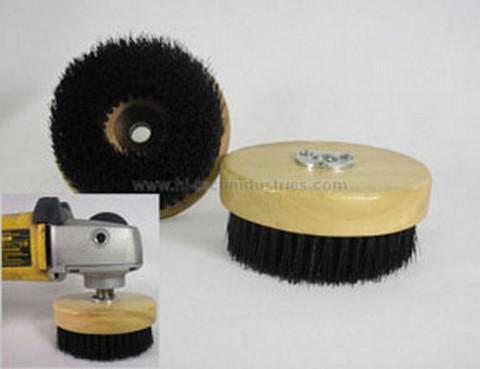 "Hi-Tech Industries  ROPB-5811 5"" Wood Block Rotary Brush"