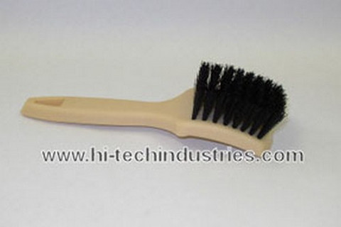 Hi-Tech Industries  WWBN-2 Whitewall Brush W/Nylon Bristl