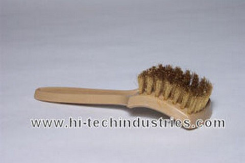 Hi-Tech Industries WWBB-1 Brass White Wall & Tire Brush