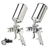 Titan Tools 19100 HVLP Spray Gun Kit Dual Set-Up 3 Pc