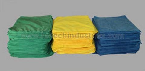 Hi-Tech Industries HT-20-100G Bulk 100 Pack Green Shop Towels