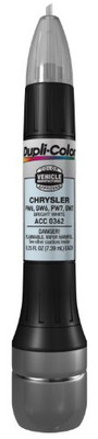 Duplicolor ACC0362 Bright White Chrysler Exact-Match Scratch Fix All-in-1 Touch-Up Paint - 0.5 oz.