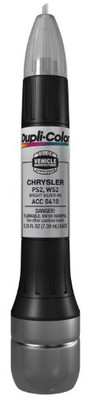 Duplicolor ACC0410 Metallic Bright Silver Chrysler Exact-Match Scratch Fix All-in-1 Touch-Up Paint - 0.5 oz.