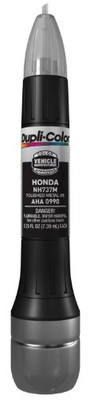 Duplicolor AHA0990 Metallic Polished Metal Honda Exact-Match Scratch Fix All-in-1 Touch-Up Paint - 0.5 oz.