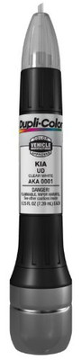 Duplicolor AKA0001 Clear White Kia Exact-Match Scratch Fix All-in-1 Touch-Up Paint - 0.5 oz.