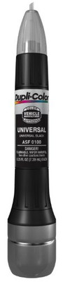 Duplicolor ASF0100 Universal Black Exact-Match Scratch Fix All-in-1 Touch-Up Paint - 0.5 oz.