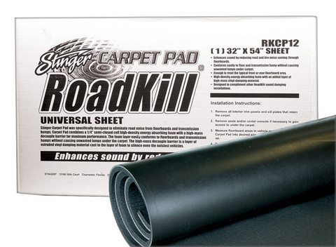 PAC RKCP12 Roadkill Carpet Pad