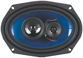 Qpower QP693 6X9 3-Way Speaker 500W