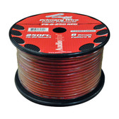 Audiopipe PS8RD Flexible Power Cable Red