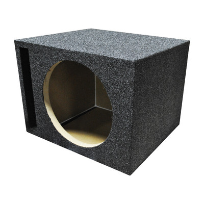 "Qpower QHD112V Single 12"" Vented Woofer Box"