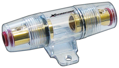 Xscorpion FH48G Fuseholder Agu In-Line Gold