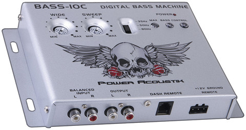 Power Acoustik BASS10C Bass Control Parametric