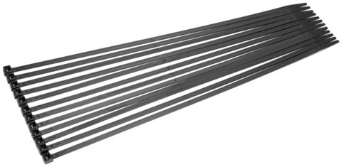 "Xscorpion CT6 Wire Ties 6"" Black 1000 Pcs Per Bag"