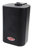 Boss Audio MR43B 3-Way Indoor/Outdoor Speaker Black