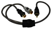 American Bass SQ1M2F Y Rca Cable 1 Male To 2 Female