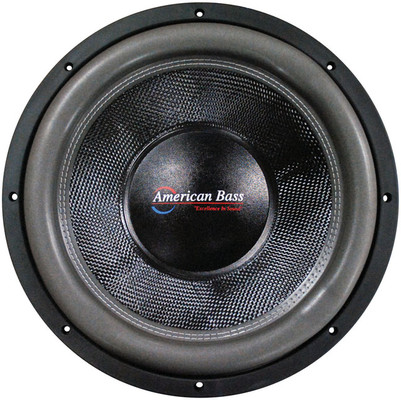 "American Bass HD18D1 18"" Cast Frame 320Oz Magnet Woofer"