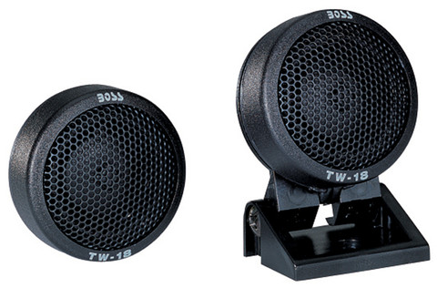 Boss Audio TW18B *Tw18* Micro Dome Tweeters Swivel Mount