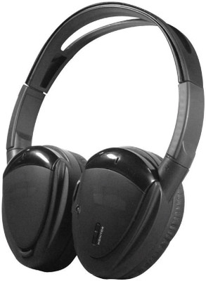 Power Acoustik HP12S Swivel Ear Pad 2Ch Wireless Headphones