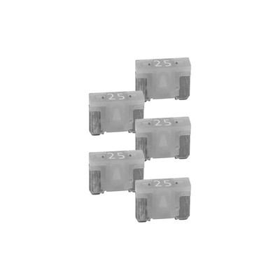 Nippon ATMLPM25A Audiopipe 25A Low Profile Mini Fuse 10 Pack