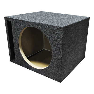 "Qpower QHD110V Empty Woofer Box Single 10"" MDF;Vented Bass Box"