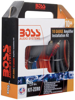 Boss Audio KITZERO Complete 10 Gauge Amplifier Installation Kit